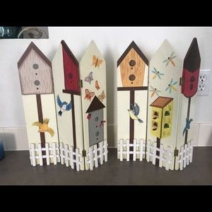 Birdhouse Folding Screens